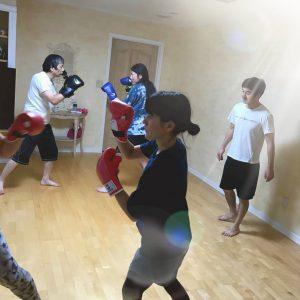 ボクサフィット グループ練習